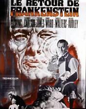 Affiche -  RETOUR DE FRANKENSTEIN (le) - Ressortie 120x160cm
