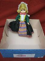 Vintage Madame Alexander Doll Sweden with Original Box & Tag #9