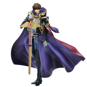 Code Geass Suzaku Kururugi Knight of Zero 1/8 PVC Figure Alpha X Omega Genuine