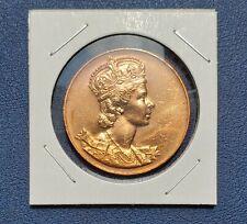 1953 Canada Queen Elizabeth II Coronation Commemorative Medallion