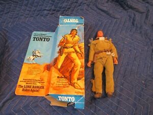 VINTAGE 1973 Hubley TONTO ACTION FIGURE  Doll No.23621