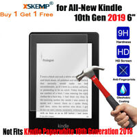 """2X Genuine Tempered Glass Screen Protector for All-New Kindle 10th Gen 2019 6.0"""""""