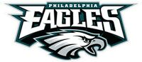 Philadelphia Eagles Decal ~ Car / Truck Vinyl Sticker - Wall Graphics, Cornhole