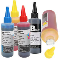 100ml Refill Ink for HP Canon Samsung-Lexmark Epson Dell Brother Inkjet P PYH