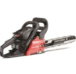 16 in 42cc Gas Powered Chainsaw