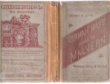 Norman May's Guide to MALVERN illst with mpas, plan, woodcuts & photos C 1890's