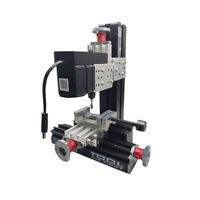 New 100~240V Metal Mini Milling Machine DIY Woodworking Tool Student Modelmaking