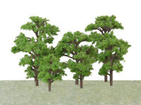 20pcs Train Scenery Wargame Diorama Park Model Trees 1:100-300 Scale HO N Z