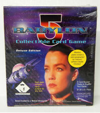 Babylon 5 CCG Deluxe Edition Booster Box 24 Packs 8 Cards Each Sealed Game New