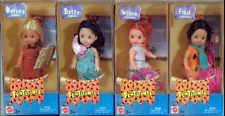 Kelly Dolls as the Flintstones Fred & Wilma, Barney & Betty Rubble NEW IN BOX