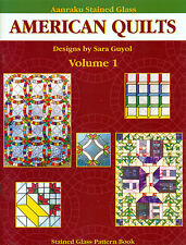 American Quilts Stained Glass Suncatchers Pattern Book, Books