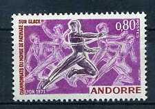 ANDORRE Fr. - 1971 yv. 209 - Sport  Patinage, neuf**