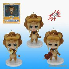 ANIME Fate Stay Night 50# Lion Saber Nendoroid Figure Face Changeable Gift toy