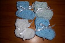 BOYS 4 PAIR BOOTEE GIFT PACK [ HAND KNITTED ]