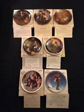 Bradford Exchange Norman Rockwell Collectible Plates