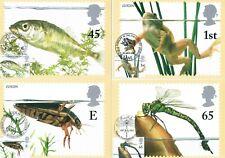 ~2001 - Pond Life  PHQ Card set, various handstamps