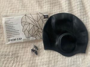 Arteesol Swim Cap Black Silicone