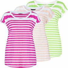 Marks and Spencer Striped Hip Length Women's T-Shirts