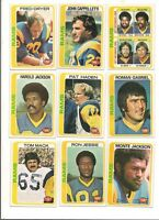 1978 Topps Los Angeles Rams Football Card Team Set (19  Different)