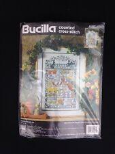 Garden Sampler 41037 Nancy Rossi 1995 Bucilla Counted Cross Stitch Pattern Kit