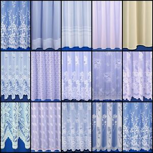 Choice Of Great Value Premium Quality Net Curtains - Sold By The Metre