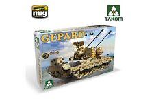 Takom TAKO2044 1/35 Bundesweht Flakpanzer 1 Gepard Spaag A1/A2 2 IN 1