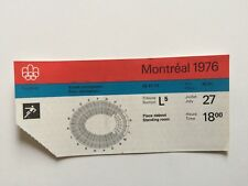 1976 MONTREAL OLYMPICS TICKET STUB FOOTBALL OLYMPIC STADIUM RARE