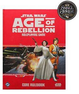 Star Wars: Age of Rebellion RPG - CORE RULEBOOK - NEW and Sealed