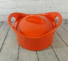 New listing Rachel Ray 2.75 quart Orange Baking Dish With Lid
