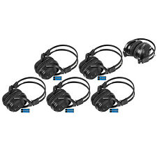5 New Foldable Wireless DVD Headphones Batt Headset Van Truck Chevy GM IR-601B