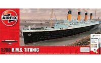 AIRFIX® 1:700 SCALE R.M.S TITANIC MODEL SHIP MEDIUM GIFT SET KIT A50164A