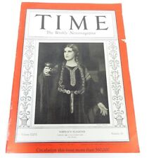 TIME Magazine NORWAY'S FLAGSTAD (December 23 1935) Kristen Flagstad OPERA SINGER