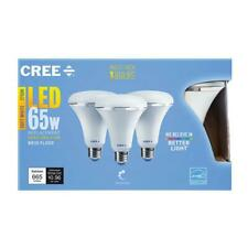 Cree BR30-6 ENERGY STAR Flood Light Bulb, 8W, 65W Equal,(3 boxes of 3-Pack)
