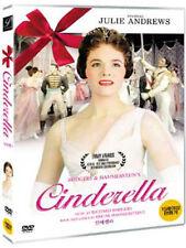 Rodgers & Hammerstein's CINDERELLA (1957) Julie Andrews DVD *NEW