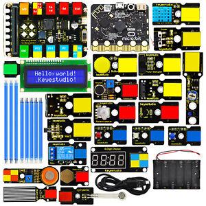 KEYESTUDIO EASY PLUG Super Starter Kit MICRO BIT Electonic Hobby Kits For Adults