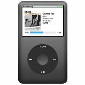 Apple iPod Classic 6th Gen 120GB Black