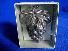Spi Decor Hardware Solid Brass Hidden Doorbell Grape Vine New in sealed box Nib
