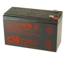 CSB UPS12360-7 Rechargeable Sealed Lead Acid Battery 12V 360W UPS 12360 F2 SLA