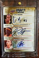 2009-10 UD Draft Edition Stephen Curry, Jonny Flynn, May or AUTO ROOKIE 9/60
