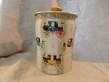 """Vintage George W. Horner Tin with Carriage Design 6"""""""