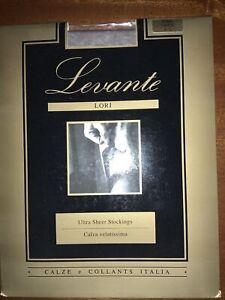 Levante Lori 15 Denier Ulta Sheer Stockings Large