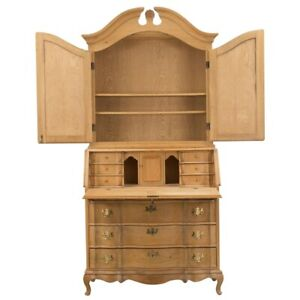 French Beech Secretaire, 1950s