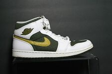 Nike Air Jordan 1 Phat '11 Sneaker Multi Peat Moss Athletic Men 11 Hip Leather