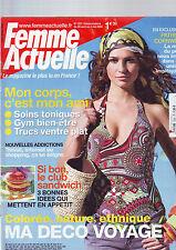 FEMME ACTUELLE DU 28 avril 2008 / numero 1231