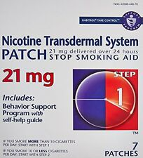 Habitrol® Step 1 Nicotine Patch Transdermal System 21mg 7 Patches Each