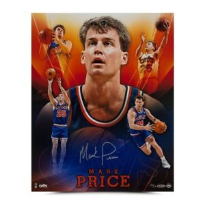 """Mark Price Signed Autographed 16X20 Photo """"Cavs Collage"""" Cavaliers #/50 UDA"""