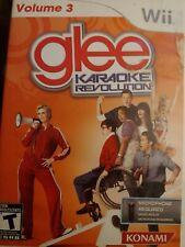 Karaoke Revolution: Glee - Vol. 3 (Nintendo Wii, 2011)