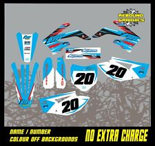 TM RACING  85 TO 450 FULL MOTOCROSS  GRAPHICS KIT MOTORCROSS ALL YEARS KLEENE