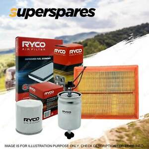 Ryco Oil Air Fuel Filter Service Kit for Holden Astra AH 06/2006-03/2010