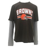 Cleveland Browns Kids Youth Size Long Sleeve shirt NFL Official New With Tags
